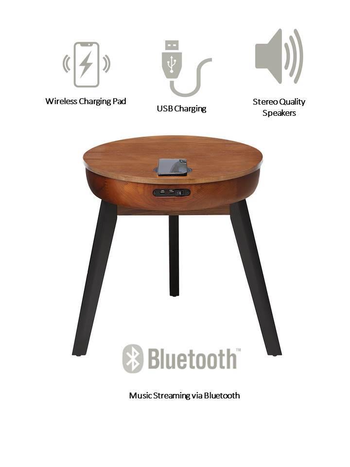 San Francisco Smart Lamp Table