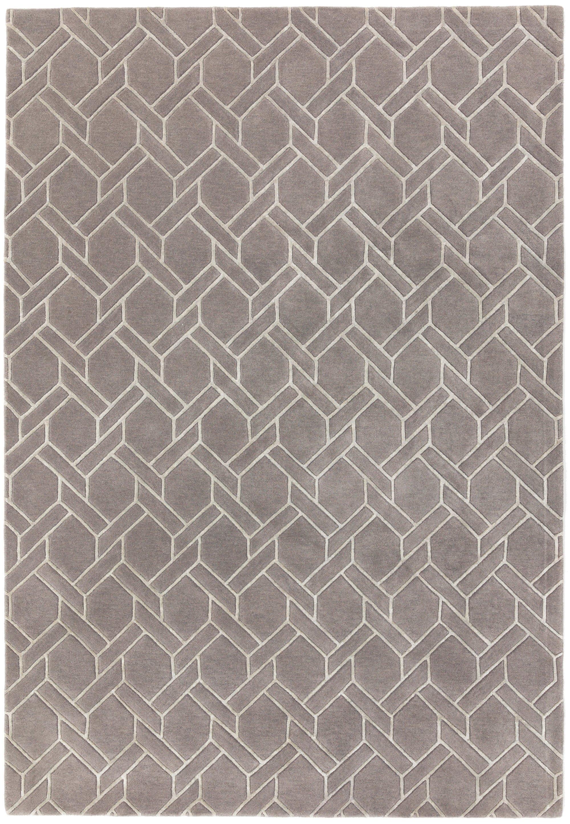 Nexus Rug Fine Lines Grey/Silver