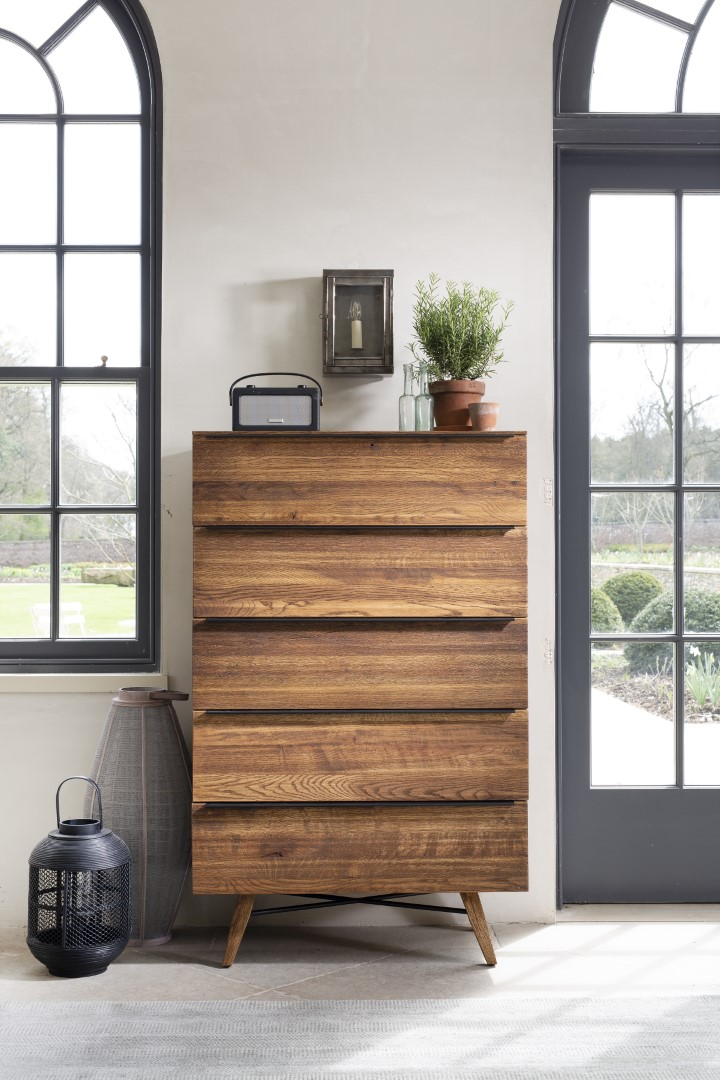 Cali 5 Drawer Tall Chest