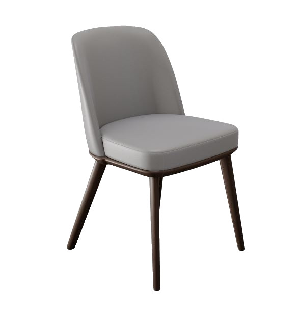 Calligaris Foyer Taupe Leather Chair