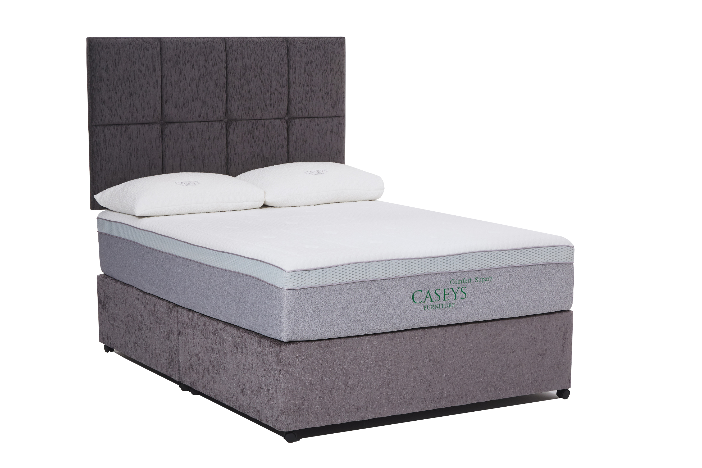 Caseys Comfort Superb Mattress & Divan