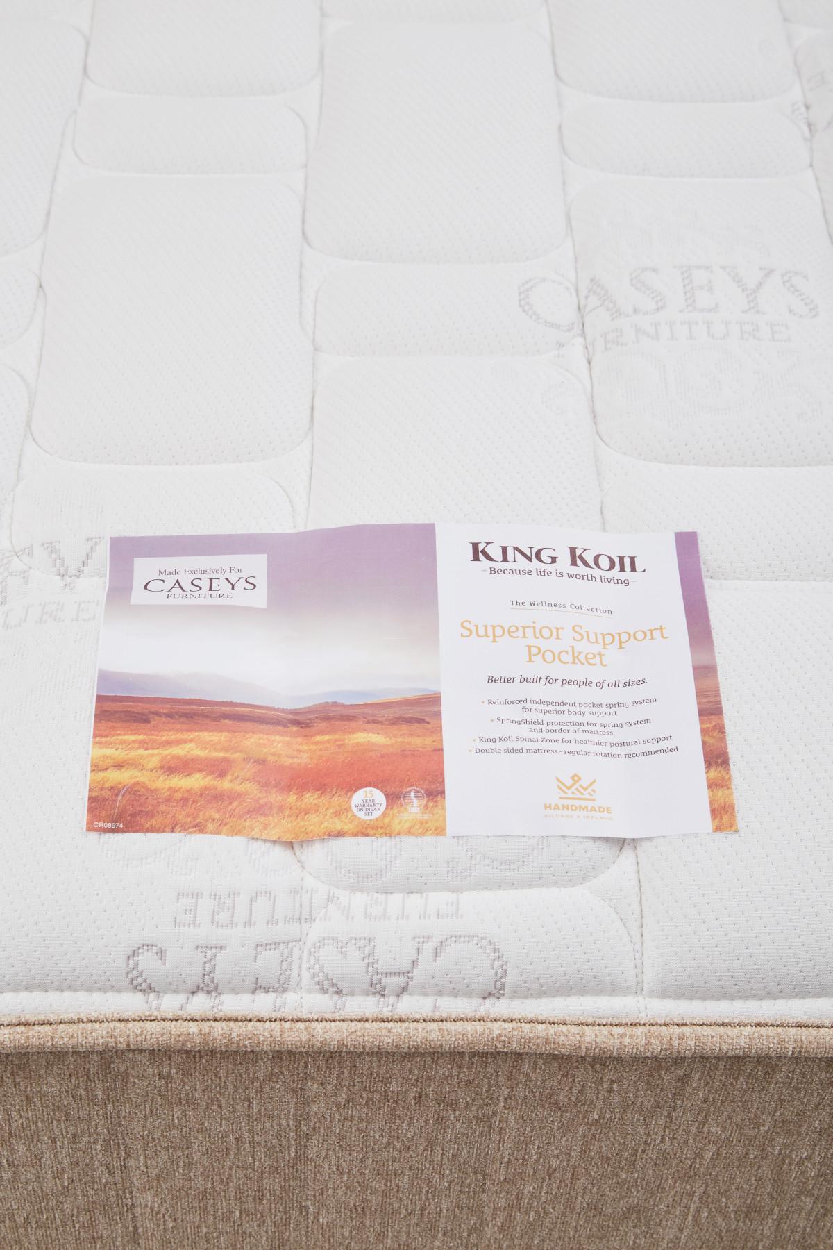King Koil Superior Support Pocket 6ft Mattress