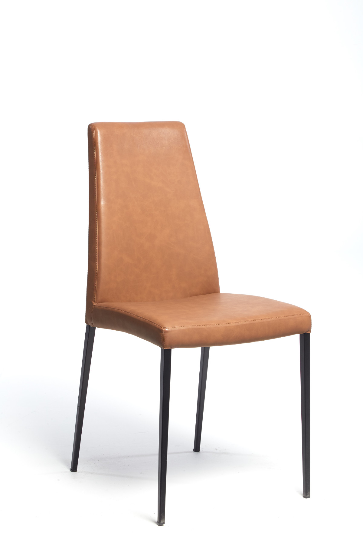 Calligaris Aida Soft Chair Vintage Tobacco
