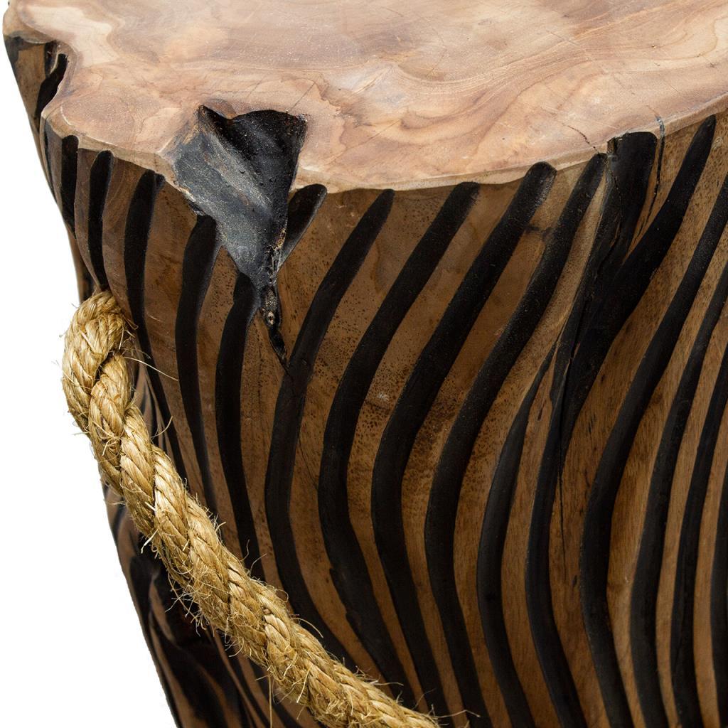 Teak Striped Root Stool