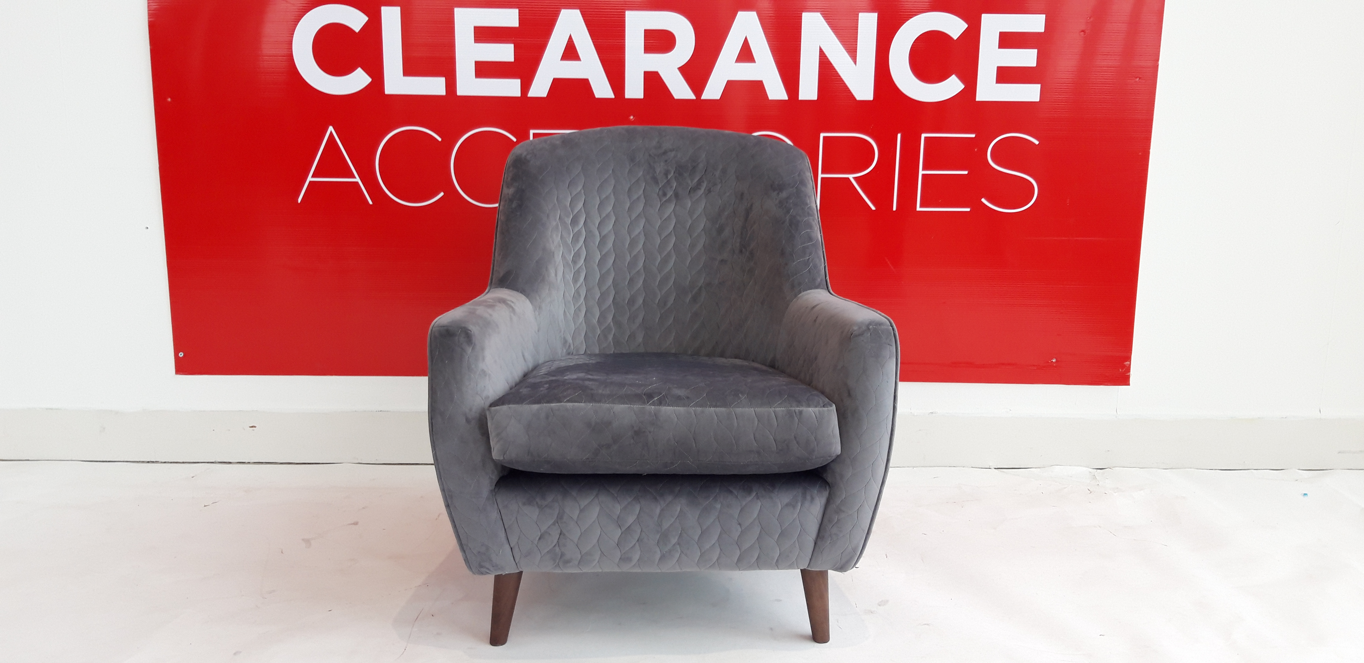 Morden Accent Chair - OUTLET