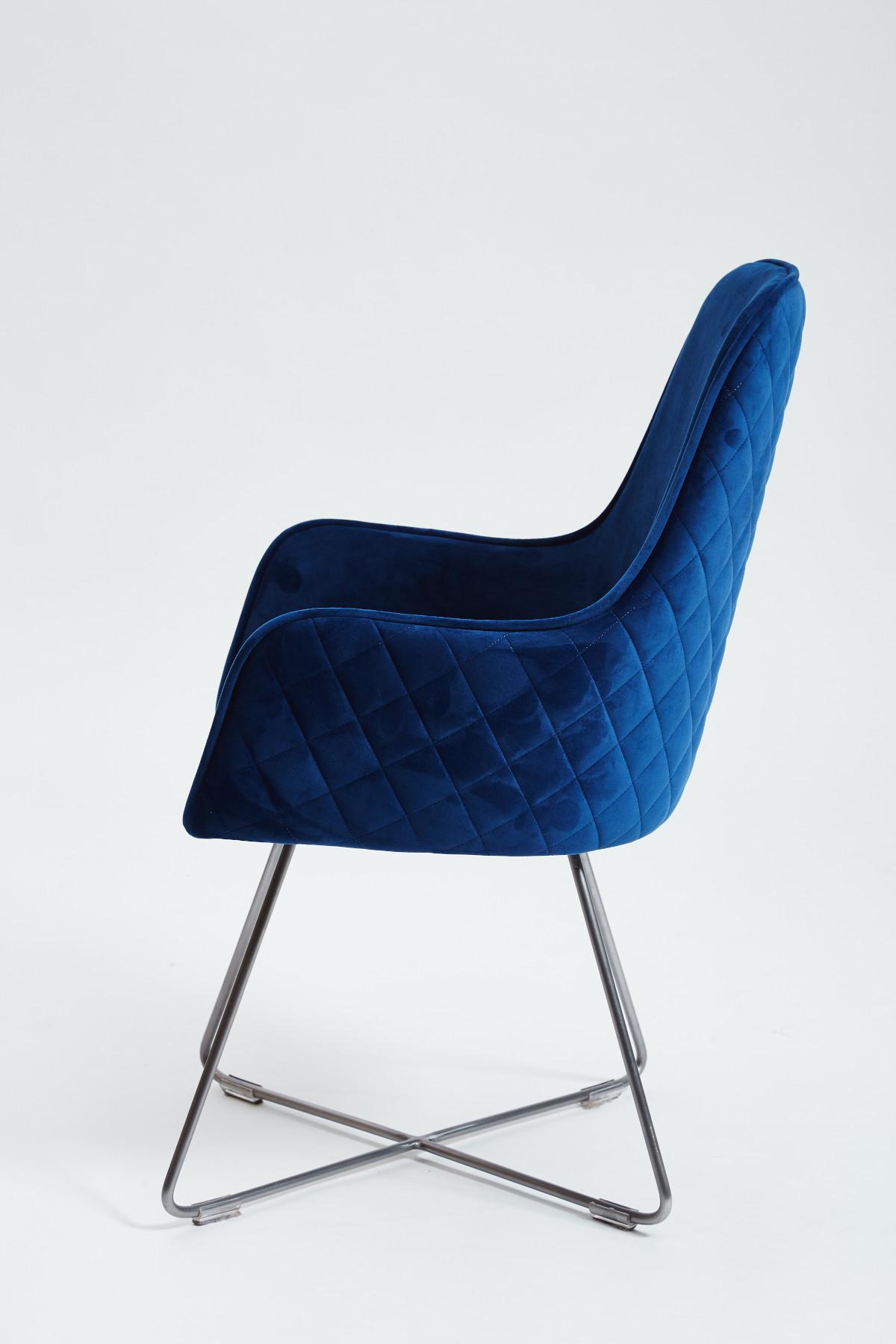 Utah Dining Chair - Plush Marine