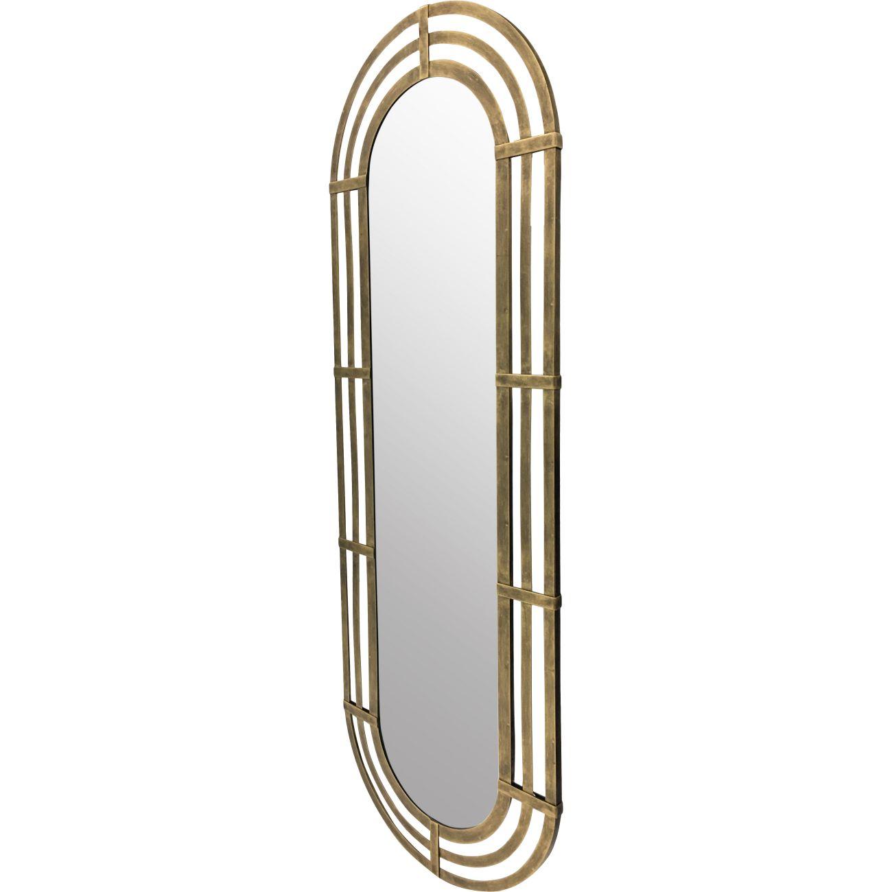 Lalique Oval Mirror