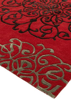 Matrix Rug Tangier Red