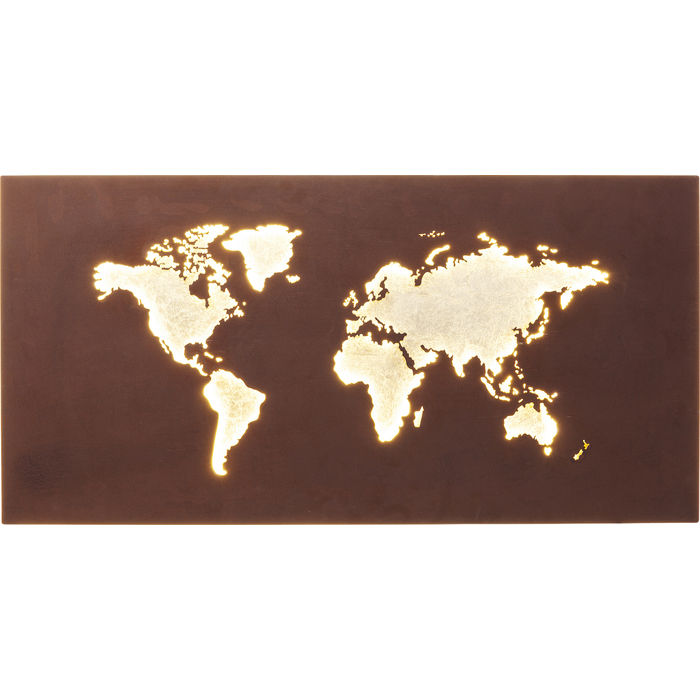 LED Map of the World
