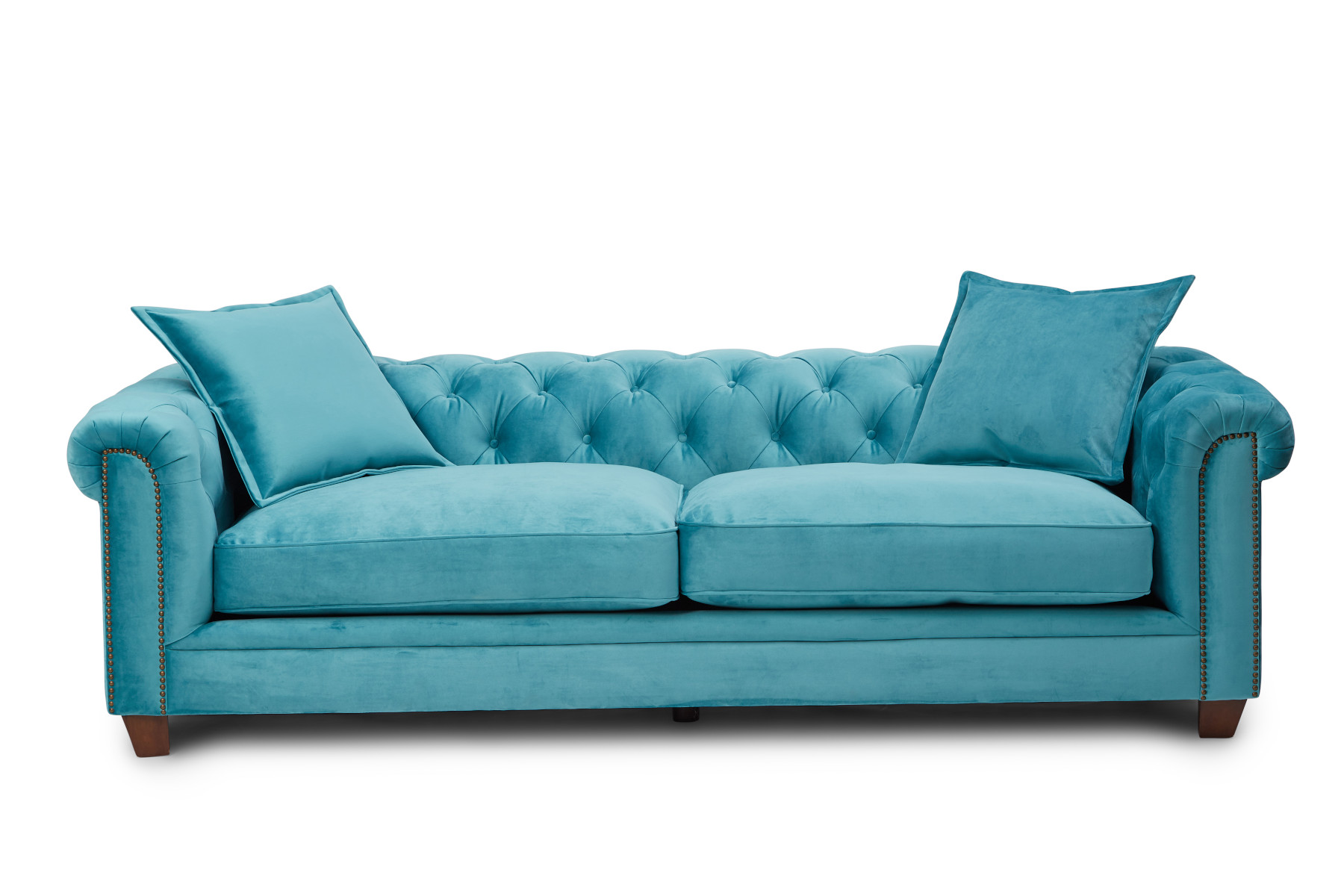 Kennedy 4 Seater Hermit Sofa - Teal