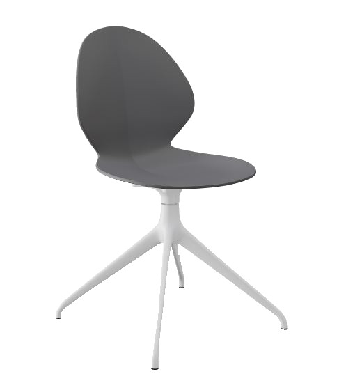 Calligaris Matt Grey Basil Chair