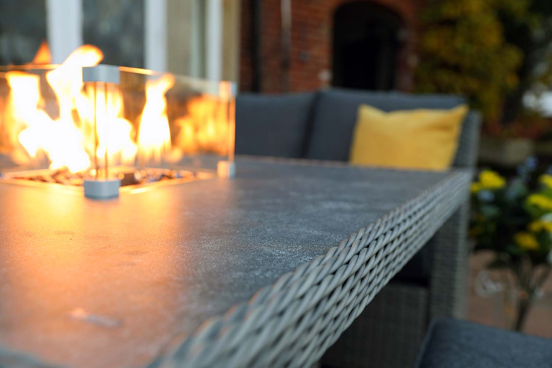 Pre-Order Malaga Mini Modular Garden Firepit Set