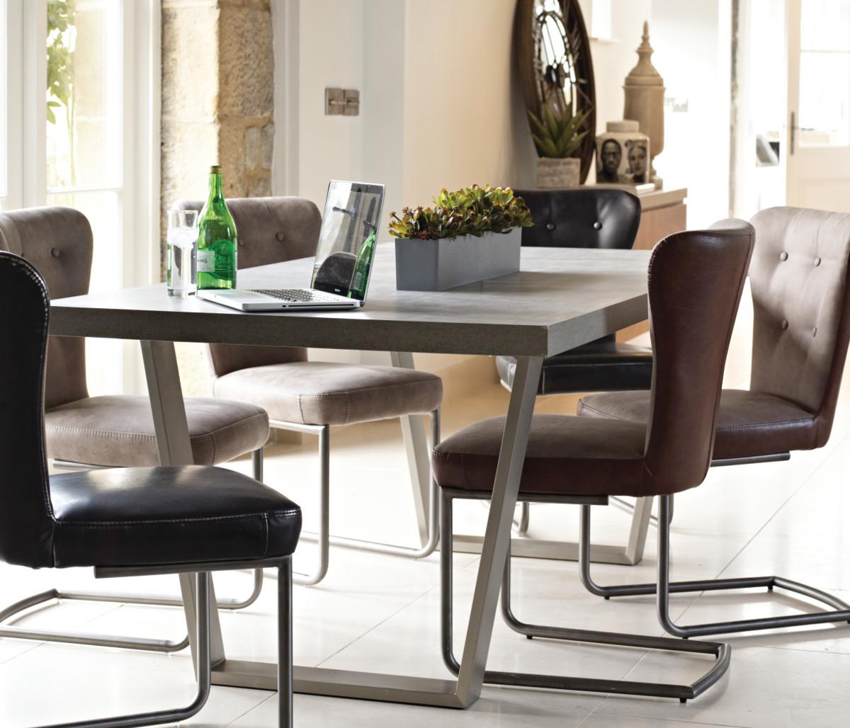 Peyton Dining Chair Silver