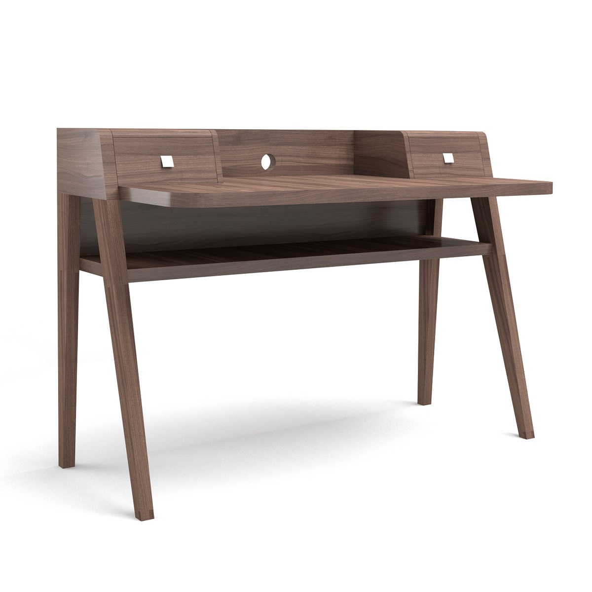 Havana Walnut Desk