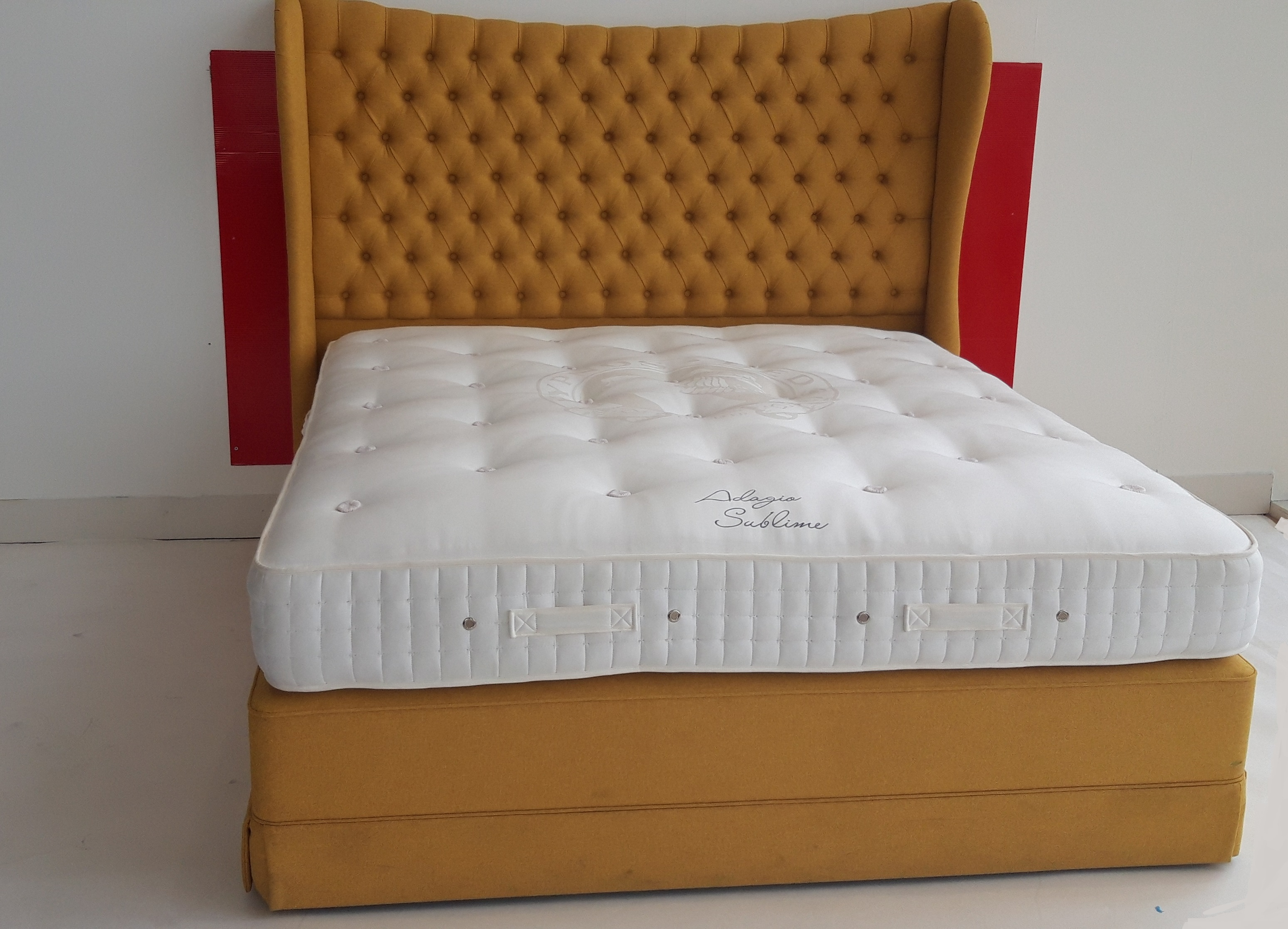 Adagio 6ft Pocket Sprung Sublime Mattress, Divan & Headboard Set - OUTLET