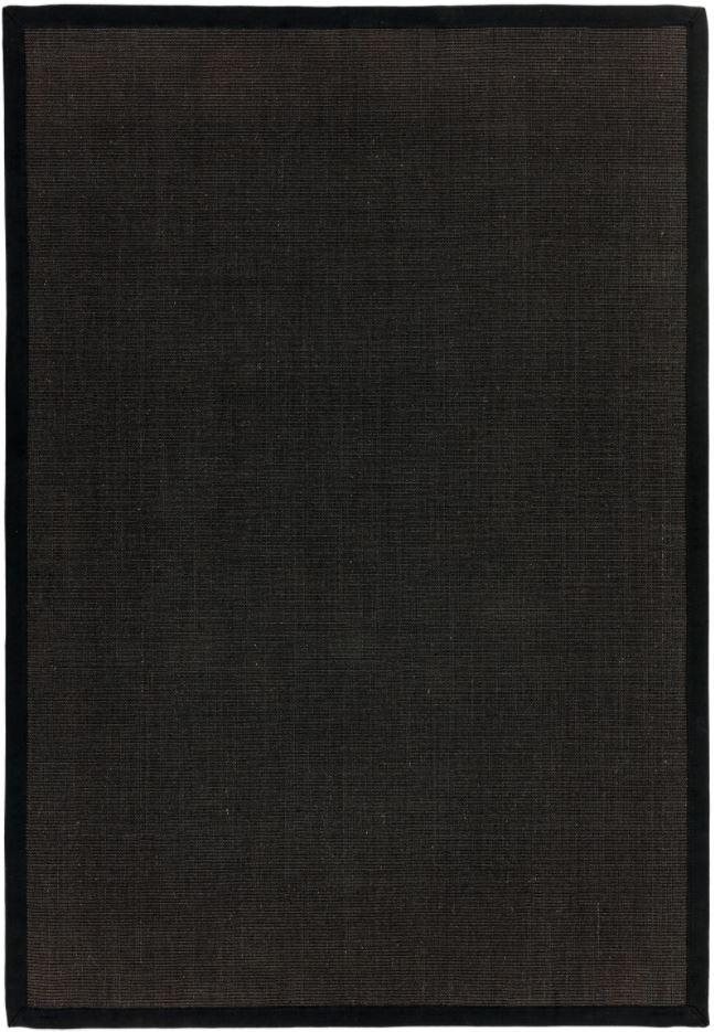 Sisal Rug Black
