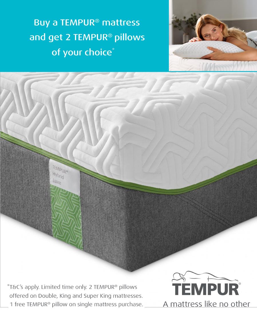 Tempur Hybrid Luxe Mattress