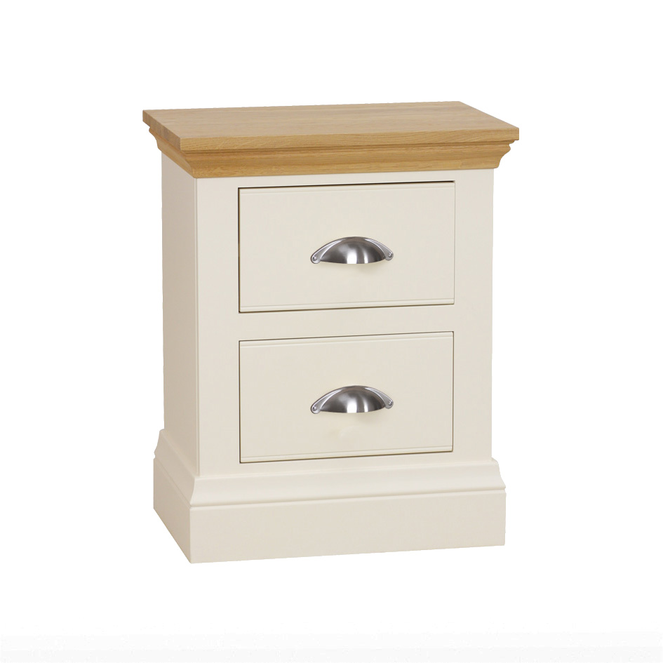 Eve 2 Drawer Bedside Locker