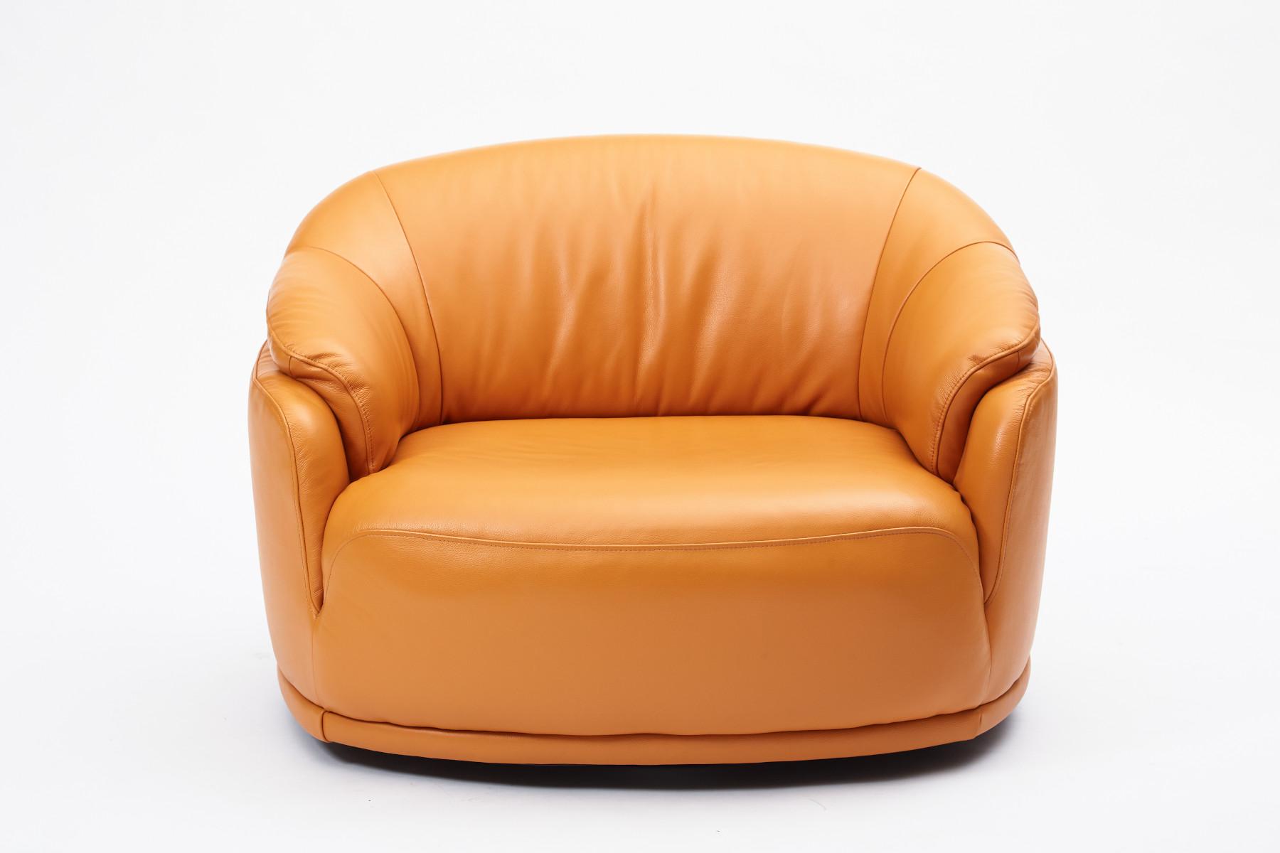 Digby Swivel Snuggler Chair