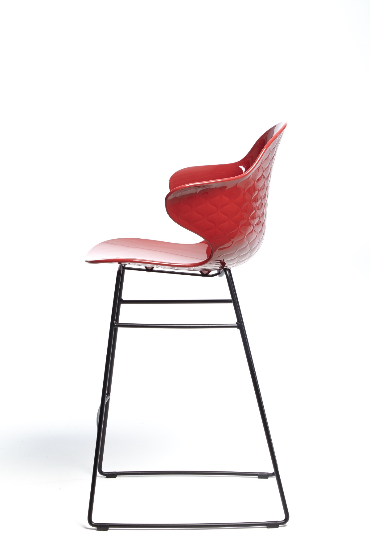 Calligaris St.Tropez Stool Oxide Red