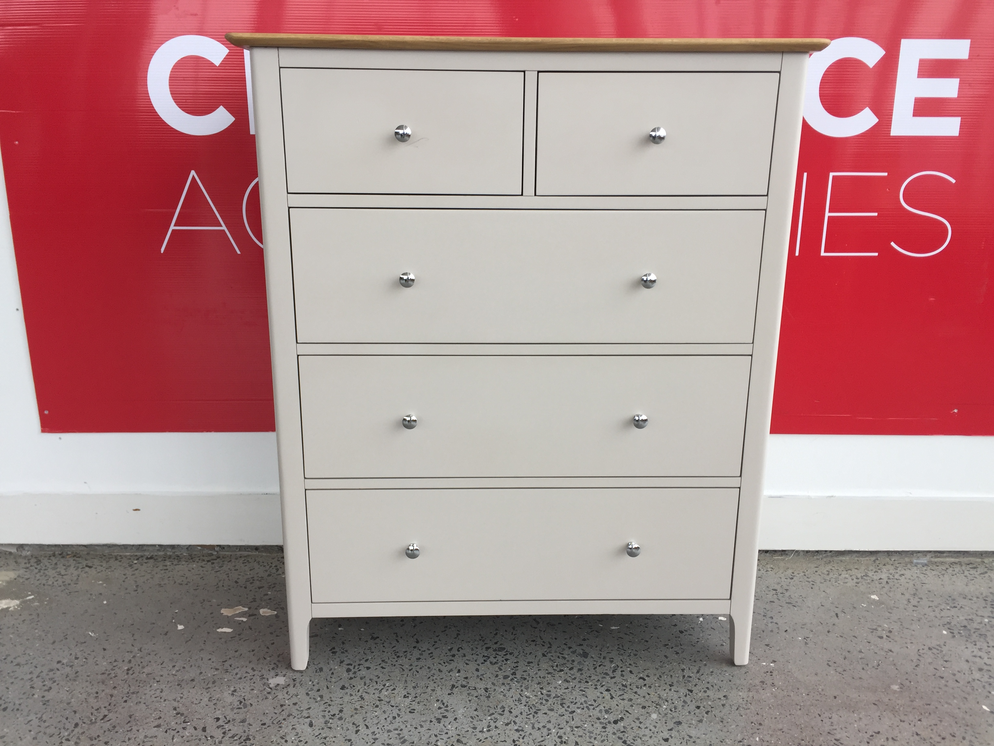 Oisin 2+3 Chest of Drawers - OUTLET