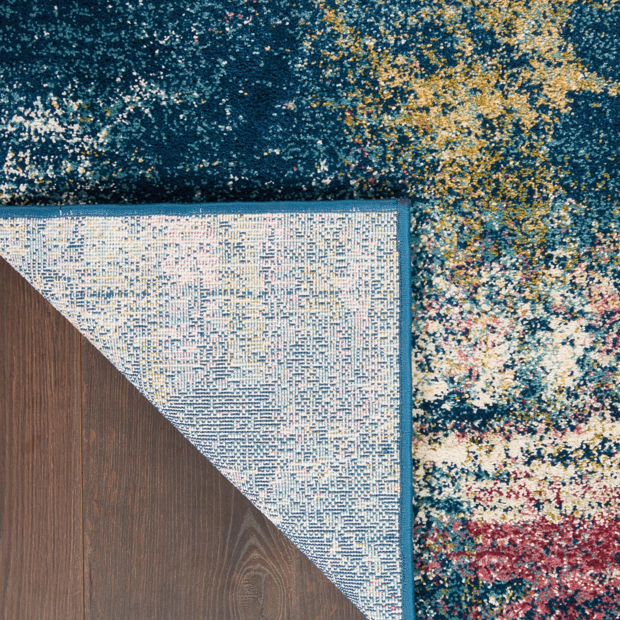 Fusion Rug FSS17 Blue Multicolor